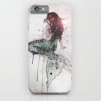 iPhone & iPod Case featuring Mermaid II by Sam Nagel