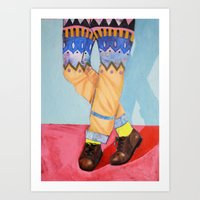 Summer hues Art Print