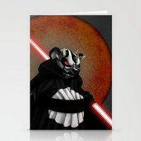 The Panda Menace Stationery Cards