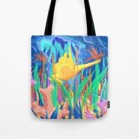 La plongeuse Tote Bag
