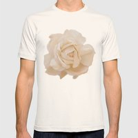 IVORY ROSE Mens Fitted Tee Natural SMALL