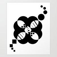 Circle & Square Art Print