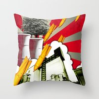 Vive La Vie Throw Pillow