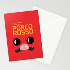Porco Rosso - Miyazaki - Alternative Cartoon Poster Stationery Cards