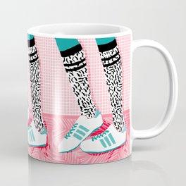 Mug - Aiight - sports fashion retro throwback style 1980s neon palm springs socal country club hipster - Wacka