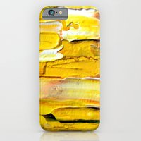 iPhone & iPod Case featuring Yellow by Claudia McBain