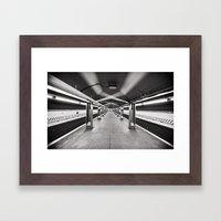 York Street Framed Art Print