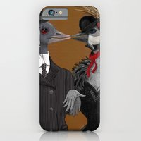 Demoiselle Crane And Gre… iPhone 6 Slim Case