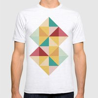 Candy Mens Fitted Tee Ash Grey SMALL