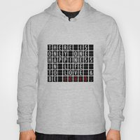 Destination Sign Love Hoody