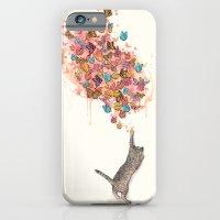 Catching Butterflies iPhone 6 Slim Case