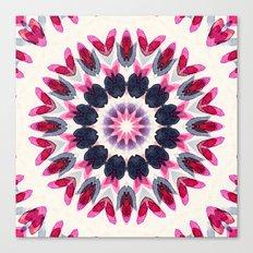 Watercolor Mandala 3 Canvas Print