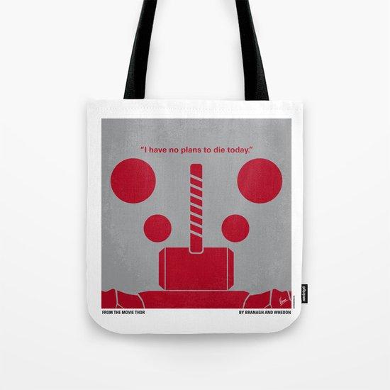 No232 My THOR minimal movie poster Tote Bag