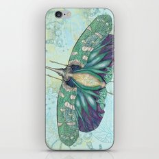 Hotinus Maculatus ~ Blue Version iPhone & iPod Skin