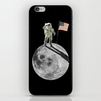 Man On Moon iPhone & iPod Skin