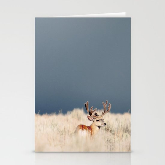 Jackson Hole Deer Stationery Card
