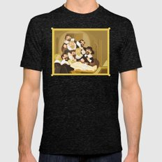 The Anatomy Lesson by Rembrandt Mens Fitted Tee Tri-Black SMALL