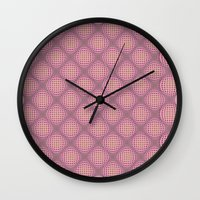 Pop pink Wall Clock
