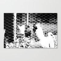 Clucky Canvas Print