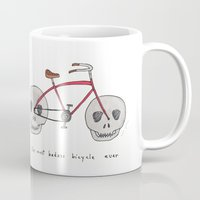 the most badass bicycle ever Mug