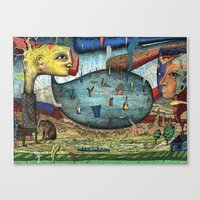 The Stagnant Pool Canvas Print