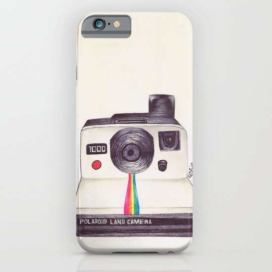 Ballpoint Pen Polaroid iPhone & iPod Case