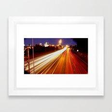 Coming & Going Framed Art Print