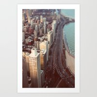 Tiny Cars #2 Art Print
