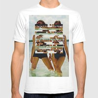 Bee Keen E. Gurls Mens Fitted Tee White SMALL