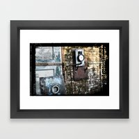 Timed Framed Art Print