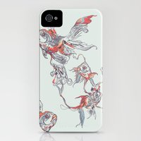 iPhone Cases featuring Floating in Deep by Huebucket