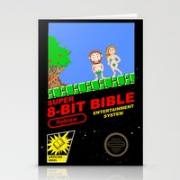 8-bit Bible Stationery Cards