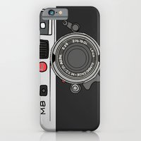 iPhone & iPod Case featuring Camera by Illustrated by Jenny