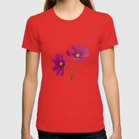 Gift of spring Womens Fitted Tee Red SMALL