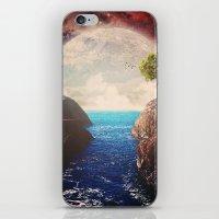 Where the moon meets the sea iPhone & iPod Skin
