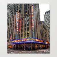 Radio City Music Hall Canvas Print