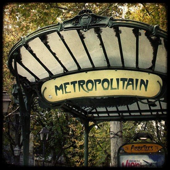 Le Métropolitain - paris Art Print