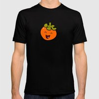 Persimmon Mens Fitted Tee Black SMALL