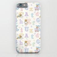 Teddy Bear Alphabet ABC's iPhone 6 Slim Case