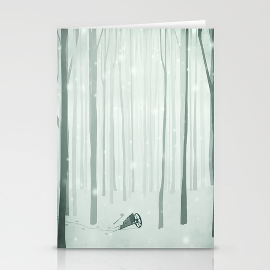 The Woodcutter Stationery Card