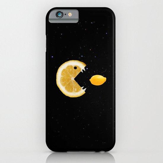 Lemon eats lemon iPhone & iPod Case