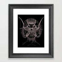 Masque De L'Eau (Water M… Framed Art Print
