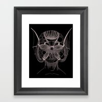 Masque De L'Eau (Water M… Framed Art Print