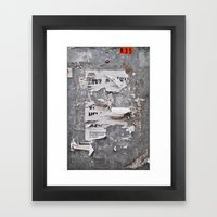 Urban Archaeology - Copenhagen Framed Art Print