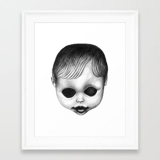 SHAME Framed Art Print