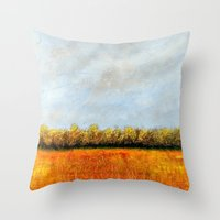Oakdale Nature Preserve Throw Pillow