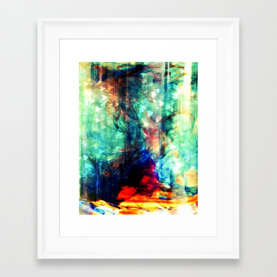 Lovely Ink Framed Art Print