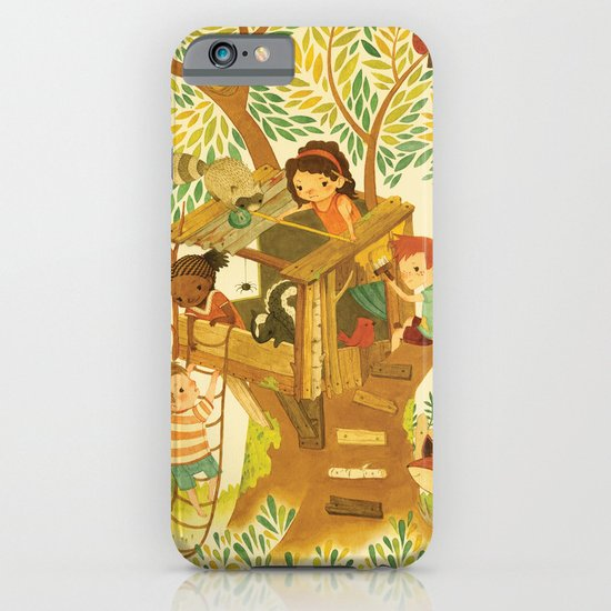 Our House In the Woods iPhone & iPod Case