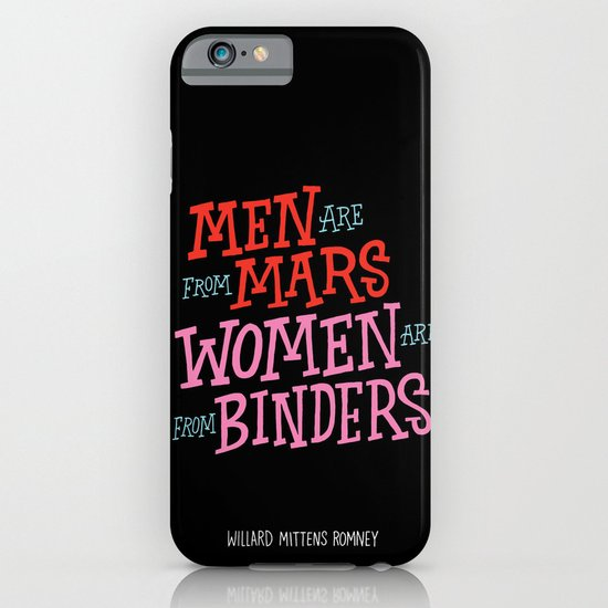 Men Are From Mars, Women Are From Binders iPhone & iPod Case