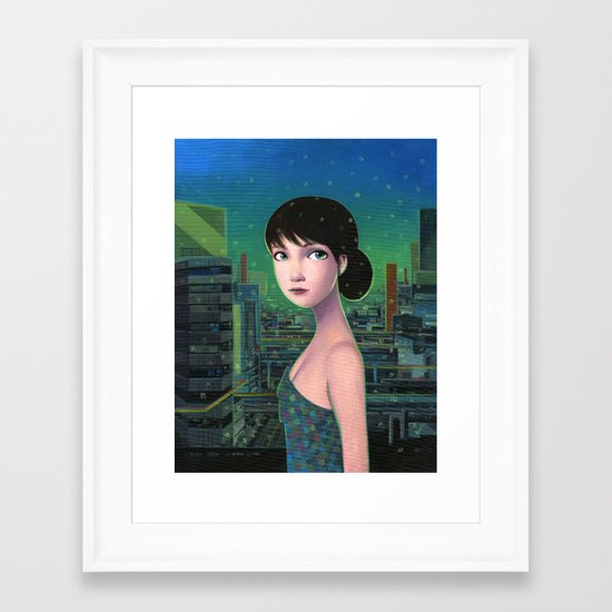 Sweet Yume Framed Art Print
